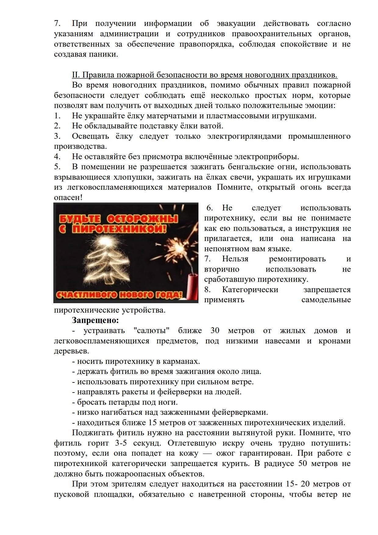 Правила безопасности в период Нового года и Рождества_2