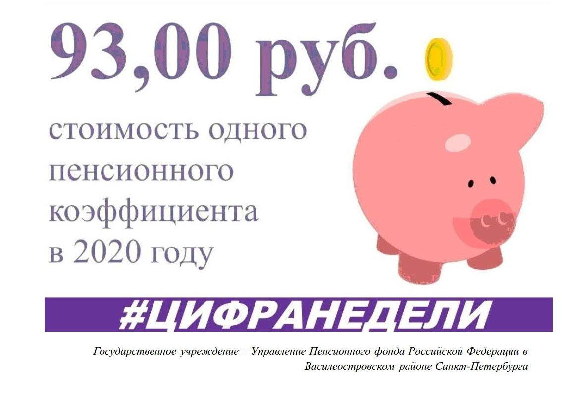 Стоимость пенсионного коэффициента_1
